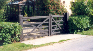 Pair of Field Gates