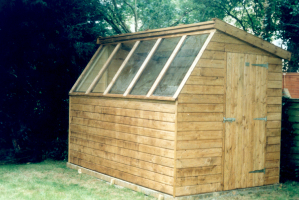 How to build a lean to shed nz how to build your own for Garden potting sheds designs